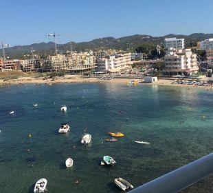 Das Meer von oben Fiesta Hotel Milord
