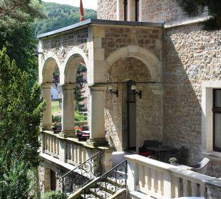 Terrasse Schlosshotel Stecklenberg