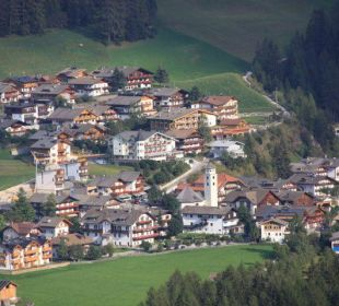 Blick vom Balkon Biovita Hotel Alpi
