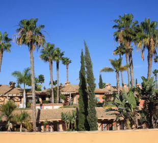 Blick über die Bungalows Dunas Suites&Villas Resort