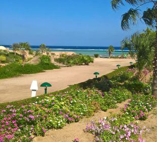 Richtung Strand Three Corners Fayrouz Plaza Beach Resort