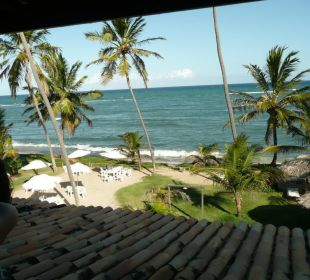 Ausblick vom Balkon 2. OG Hotel Porto da Lua