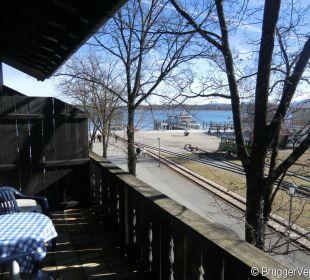 Seitlicher Blick auf den See Hotel Luitpold am See 1&2