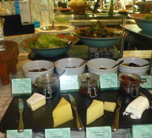 Verschiedene Käsesorten Hotel Le Meridien Bangkok