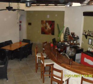 Bar und Frükstücksbereich Hotel Posada Riviera del Sol