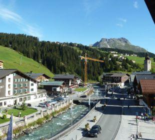 Blick vom Hotelzimmer Pfefferkorn's Hotel