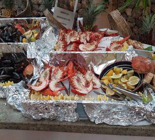 Leckeres Meeresfrüchte Buffet  Playa Garden Selection Hotel & Spa