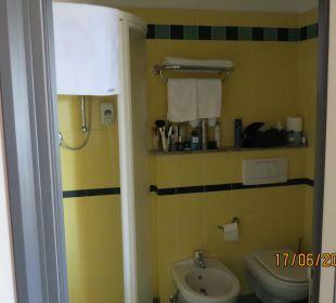 Bad mit Dusche Hotel Palos