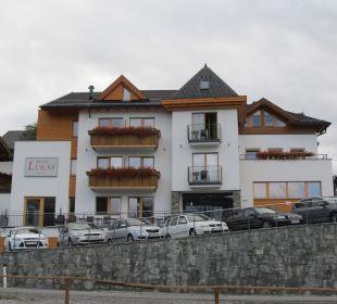 Vorderansicht Hotel Lukas