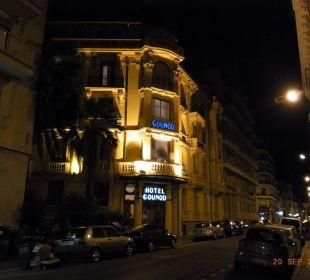 Blick aus dem Zimmer Hotel Gounod Nice