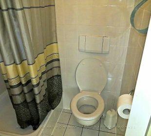 Dusche und WC Hotel Kaiserhof