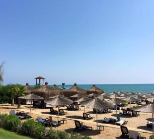 Wunderschöner Strand Gloria Verde Resort