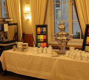 Der klasse Kaffeeautomat  Hotel Stefanie