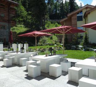 Gartenplätze Hotel Matthiol