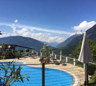 Farbiger Ausblick! Hotel Panorama