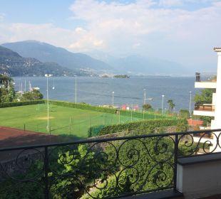 Это вид на озеро из номера Sunstar Boutique Hotel Villa Caesar