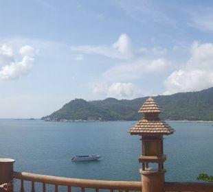 Ausblick vom Restaurant Santhiya Koh Phangan Resort & Spa