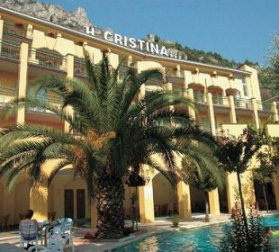 Von draußen Hotel Cristina