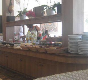 Der Frühstücksraum, aber auch Restaurant Thai Garden Resort