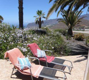 Von der Terrasse von Bungalow 8 Bungalows El Paradiso