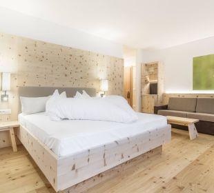 Suite Pinus mit Zirmholz Tonzhaus Hotel & Restaurant