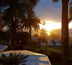 Sonnenuntergang Hotel Tigaiga