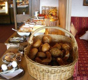Frühstücksbüffet Berghof am Paradies