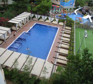 Ruhepool von oben Hotel Viva Tropic