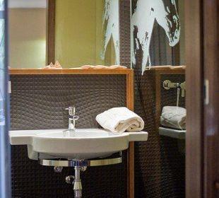 Badezimmer in der Residenz Schlosshotel Wendorf