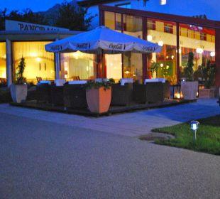 Restaurant bei Nacht Hotel Panorama Valbella (geschlossen)