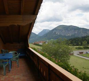 Großer Balkon Landhaus Wildschütz