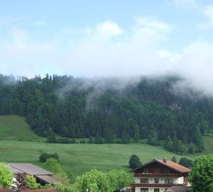 Aussicht am Morgen Hotel Brandauerhof
