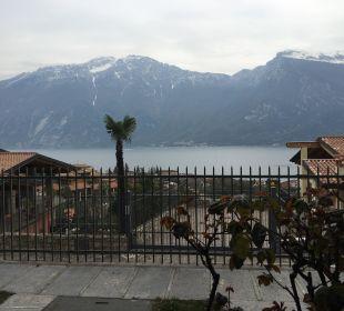 Ausblick vom Zimmer Hotel Cristina