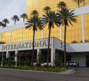 Die Auffahrt Hotel Trump International