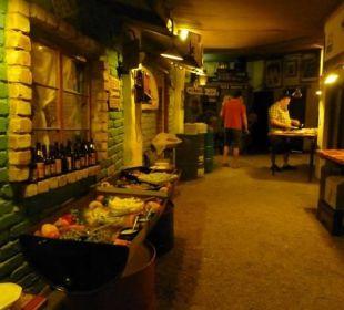 Salatbuffet Etosha Safari Camp