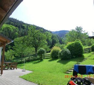 Blick auf Nachbar-FeWo Oberulpointhof