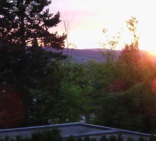 Sonnenuntergang am Hotel Hotel Landhaus Silbertanne