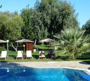 Poolbereich Hotel Robolla Beach