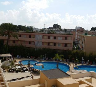 Seitlicher Meerblick Hotel JS Alcudi Mar