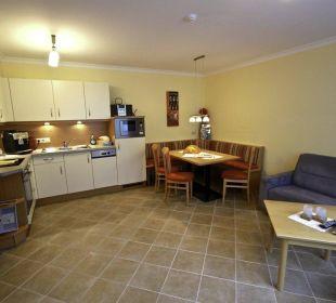 Wohnküche Kaibling Ferienwohnung Vive Diem