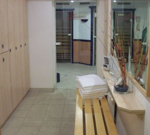 Zugang zur Sauna KurparkHotel Warnemünde