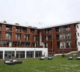 Blick von Süden Hotel Exquisit