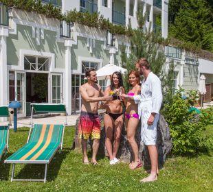 Gartenanlage Hotel Panhans