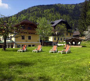 Wohlfühlgarten Ebner's Wohlfühlhotel Gasthof Hintersee