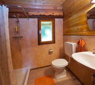 Das Badezimmer Gramegger Hütte