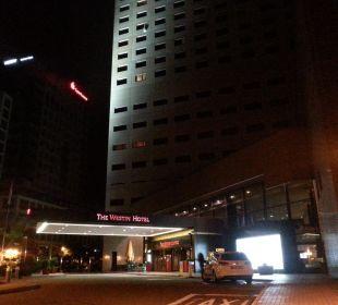 Hoteleingang Hotel The Westin Leipzig