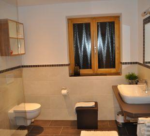 Badezimmer WG 5 Gästehaus Schwemmbauer