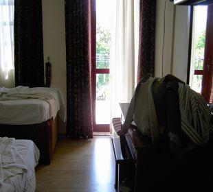 Schlafkammer mit Kellermatratze Hotel Günes