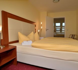 Ferienwohnung 2 Schlafbereich Hotel Via City