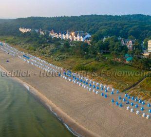 Strand von Zinnowitz mit dem Haus Seeblick Haus Seeblick Hotel Garni & Ferienwohnungen